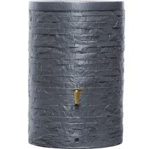 Cuve de collecte d''eau de pluie ARONDO 250 L gris graphite-thumb-0