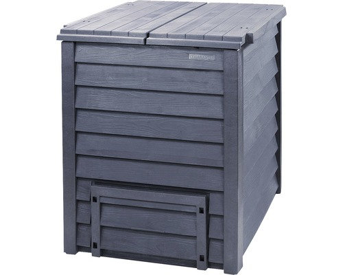 Composteur TERMO-WOOD 600l anthracite