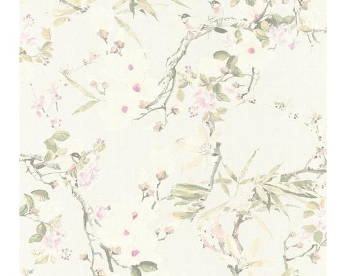 Papier peint intissé 36498-1 Vliesfashion 2 Floral crème