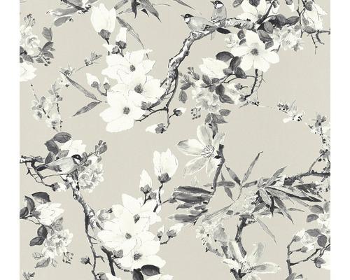 Papier peint intissé 36498-3 Vliesfashion 2 Floral beige