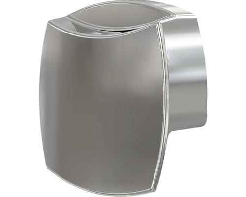 Couvercle pour trop-plein de baignoires Metall P084 chrome