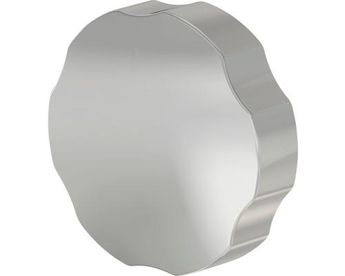 Couvercle pour trop-plein de baignoires S1076-ND chrome
