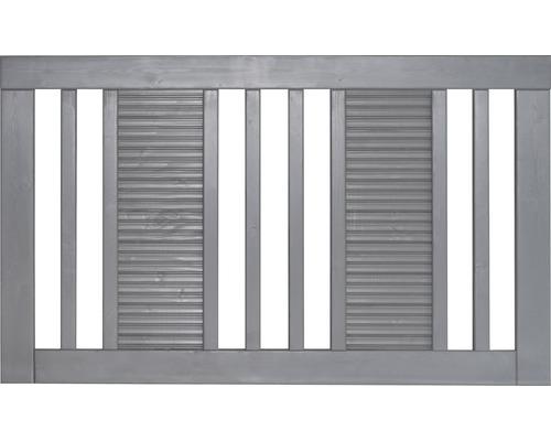 Clôture de jardinet Fenris 180 x 90 cm, gris clair