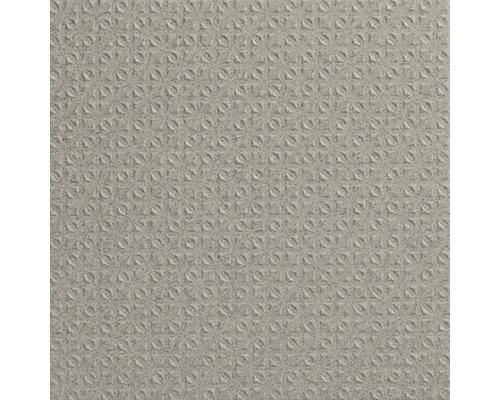 Carrelage pour sol en grès cérame fin Nevada gris disparate 20x20 cm R12CV4 15 mm d''épaisseur