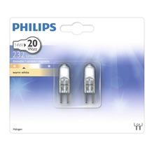 Lampe à broche halogène 12V claire G4 14W 232lm 2700K blanc chaud 2pièces-thumb-2
