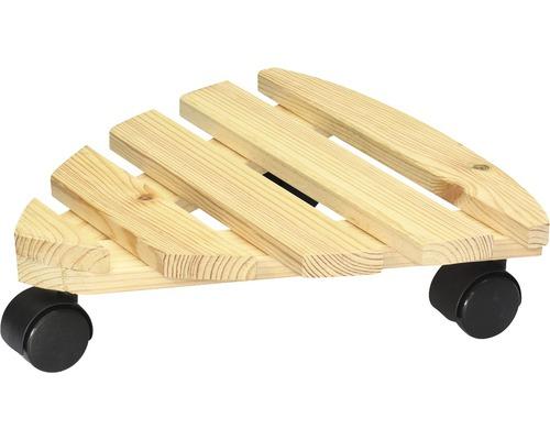 Chariot de plante Multi Roller bois 29x29cm bois capacité de charge 100kg