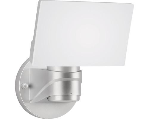 Éclairage extérieur LED 16W 1.600lm argent