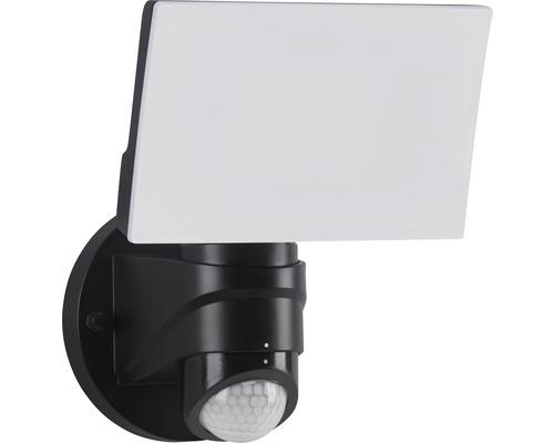 Éclairage extérieur LED avec capteur 16W 1.600lm noir