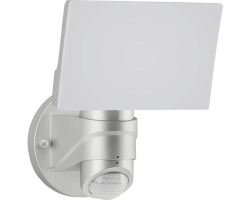 Éclairage extérieur LED avec capteur 16W 1.600lm argent
