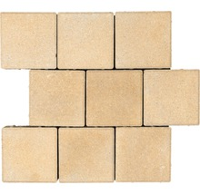 Pavé carré Caravel mélange beige 16 x 16 x 6 cm-thumb-0