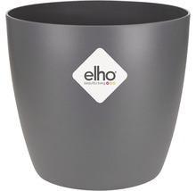 Pot de fleurs elho Brussels, plastique, Ø 9.5 H 8 cm, anthracite-thumb-2