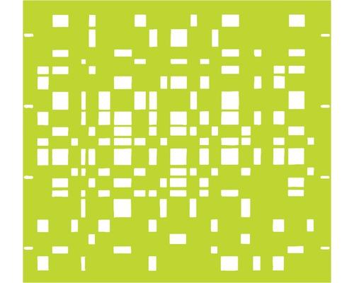 Élément partiel GABIO Geometrie 90x90cm vert clair