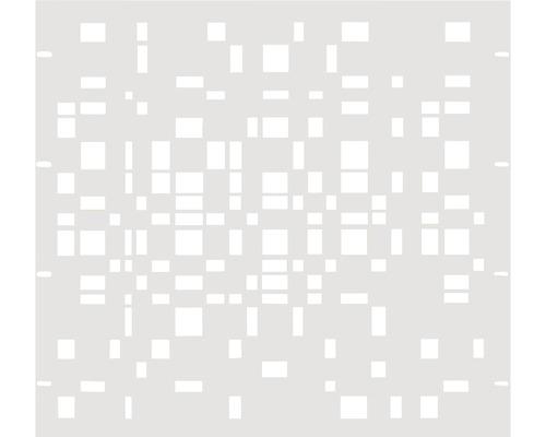 Élément partiel GABIO Geometrie 90x90cm blanc