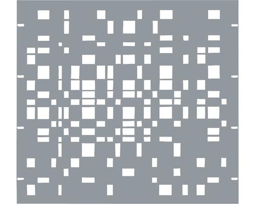 Élément partiel GABIO Geometrie 90x90cm gris clair