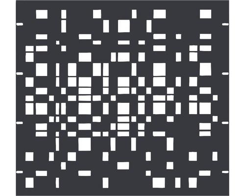 Élément partiel GABIO Geometrie 90x90cm anthracite