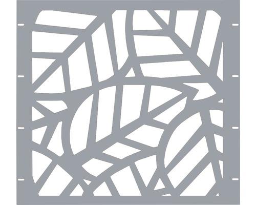 Élément partiel GABIO Palms 90x90cm gris clair