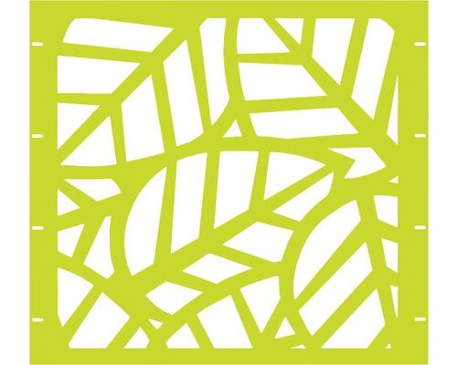Élément partiel GABIO Palms 90x90cm vert clair