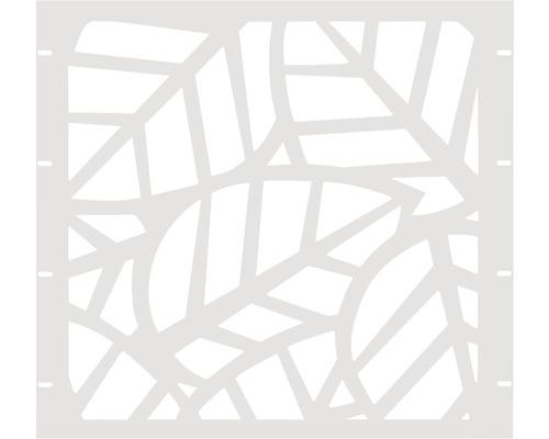 Élément partiel GABIO Palms 90x90cm blanc