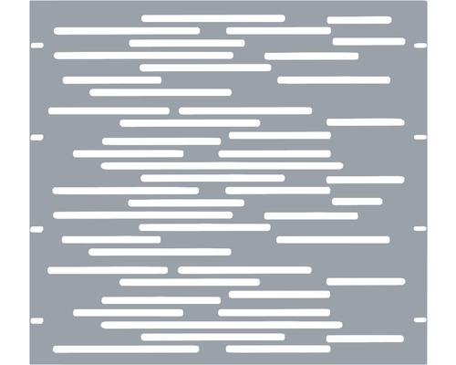 Élément partiel GABIO Vienna 90x90cm gris clair