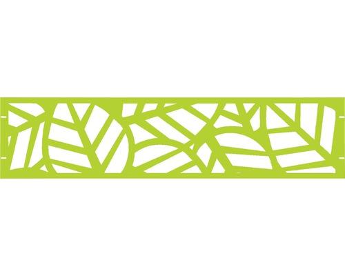 Clôture de jardinet GABIO Palms 180x45cm vert clair