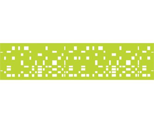 Clôture de jardinet GABIO Geometrie 180x45cm vert clair
