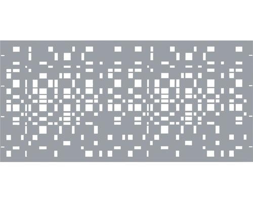 Élément principal GABIO Geometrie 180x90cm gris clair
