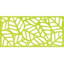 Élément principal GABIO Palms 180x90cm vert clair