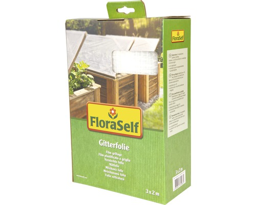 Bâche FloraSelf 3x2m 100g/m² blanche