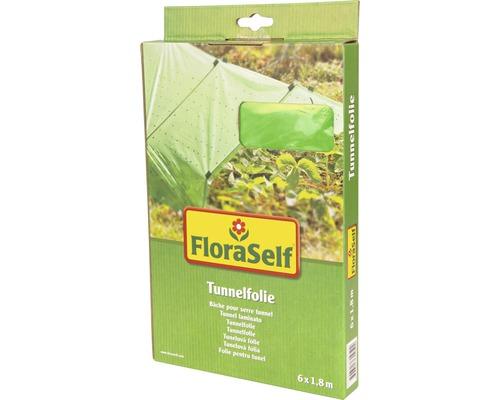 Film pour tunnel FloraSelf 6x1,8m vert
