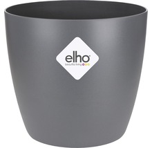 Pot de fleurs elho Brussels, plastique, Ø 9.5 H 8 cm, anthracite-thumb-1