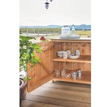 Gartenschrank/Outdoorküche Sideboard 2 Türen Typ 543 120x58x92 cm Douglasie-thumb-2