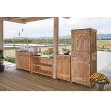 Gartenschrank/Outdoorküche Sideboard 2 Türen Typ 543 120x58x92 cm Douglasie-thumb-3