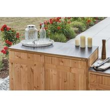 Gartenschrank/Outdoorküche Sideboard 2 Türen Typ 543 120x58x92 cm Douglasie-thumb-4