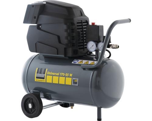 Compresseur Schneider Universal 170 L puissance d''aspiration 25 L cuve 8bar