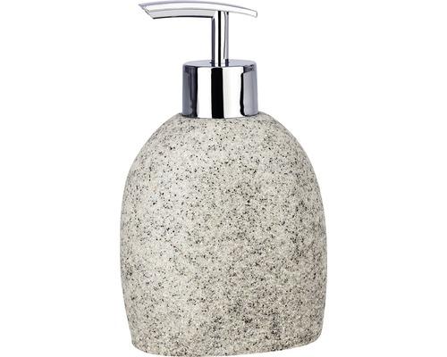 Distributeur de savon Puro gris clair