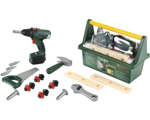 Boîte à outils pour enfants Theo Klein Bosch avec visseuse sans fil