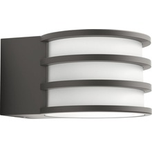 Applique murale LED Philips hue Lucca White Ambiance Outdoor 9,5 W 806 lm 2 700 K blanc chaud anthracite H 215 mm-thumb-2