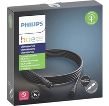 Rallonge électrique basse tension Philips hue IP44 pour luminaires extérieurs Hue Calla + Hue Lily 5 m noir-thumb-1