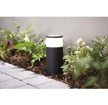 Kit de base de borne extérieure LED Philips hue White & Color Ambiance 8W 640 lm noir h 252 mm - compatible avec SMART HOME by HORNBACH-thumb-3