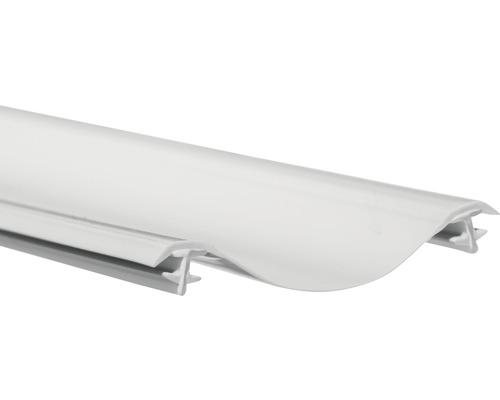 Profil d''étanchéité Schulte vertical pour paroi pliante pour baignoire D2978