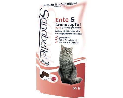 Nourriture humide pour chats Sanabelle Canard et grenade 55g