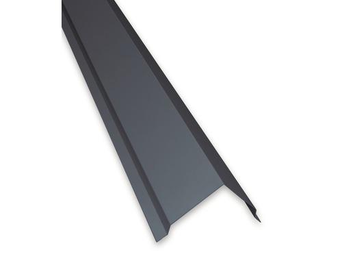 Profilé angulaire PRECIT extérieur pour panneaux sandwich RAL 7016 anthracite gris longueur 2 m