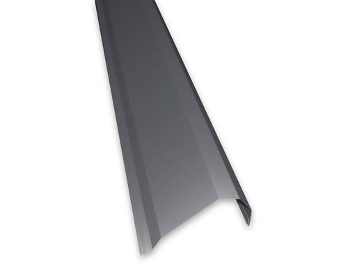 Angle de pliure PRECIT pour panneaux sandwich RAL 7016 anthracite gris pour longueur 2 m