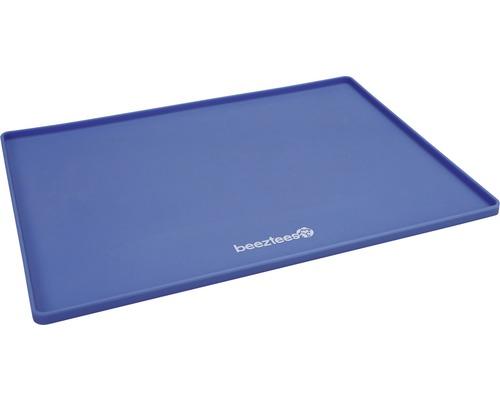 Napfunterlage beeztees Silikon 40x30 cm blau