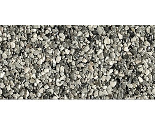 Kit de tapis de pierre 1m² Ravello moyen gris zone extérieure - sol