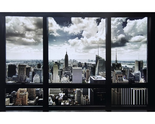 Panneau décoratif New York Window 61x91 cm