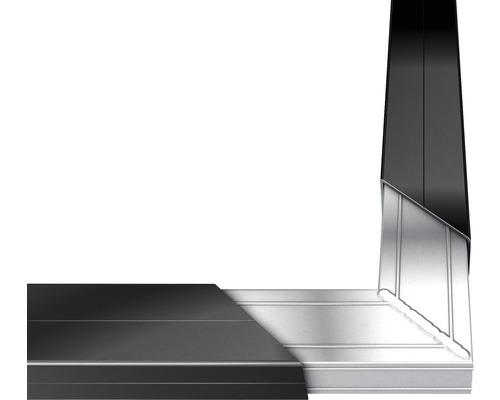 Raccord d''angle pour lambourde en aluminium 50x30 mm