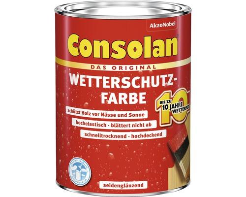Wetterschutzfarbe braun 750 ml