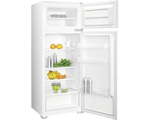 Réfrigérateur-congélateur PKM GK225.4A+EBN lxhxp 54 x 145 x 54 cm compartiment de réfrigération 171 l compartiment de congélation 36 l