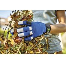 Gants de jardin for_q gardening 1 paire Taille XL, bleu-thumb-3